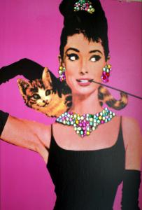 Gemstone Audrey Poster