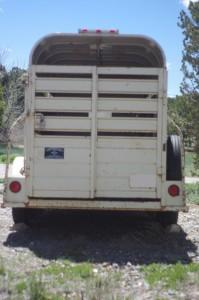 Same 2-horse trailer